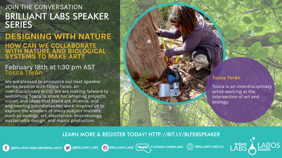 Making a Difference Speaker Series: Designing with Nature