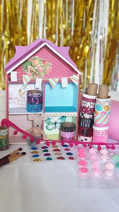 Kinderfeestje Huisje versieren