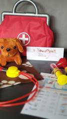 Gezondheids check set -Kinderfeestje Adopteer een puppy