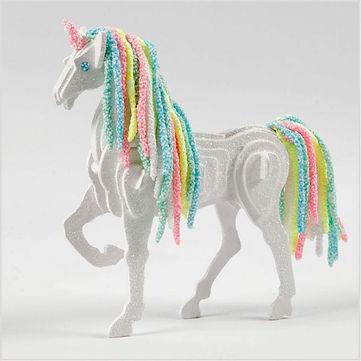 Unicorn paard maken