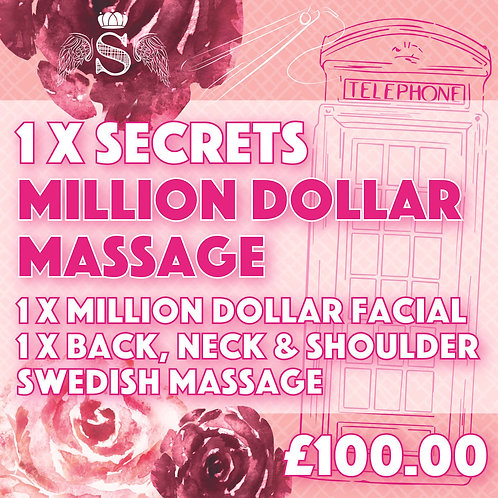Million Dollar Massage Package