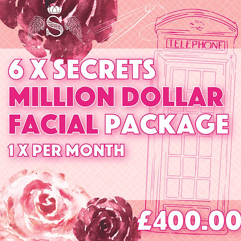 6 x Million Dollar Facial Package