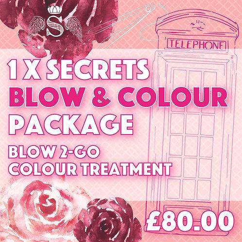 Blow & Colour Package