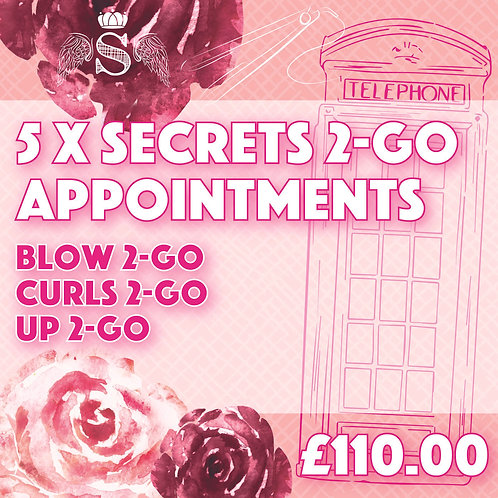 5 x '2-go' appointments