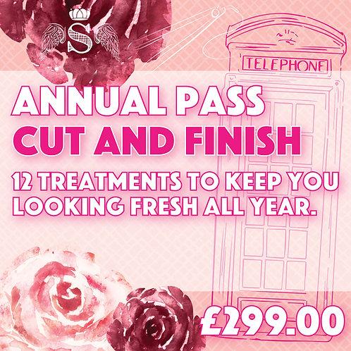 Annual Pass Ladies Cut & Finish