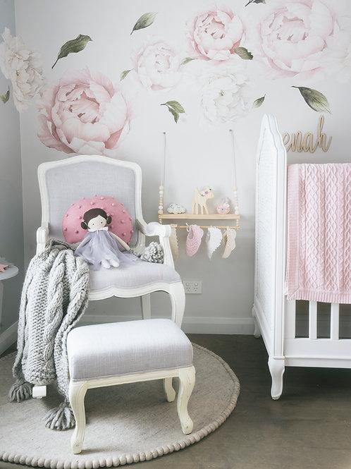 Alyssa-Marie Rocking Chair (grey)