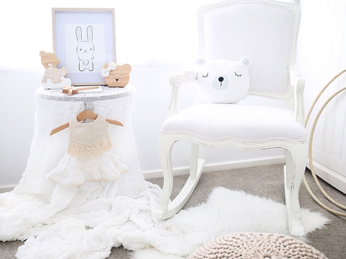 Alyssa-Marie Rocking Chair (white)