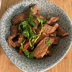 Chilli & Soy beef strips