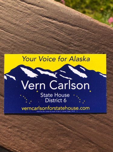 Vern Carlson for State House District 6