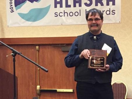Carl Rose Governance Award Recipient