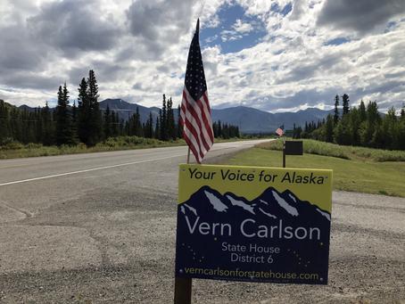 Vote Vern Carlson November 3rd