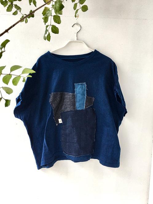 陽オリジナル BT213 藍染Tシャツ