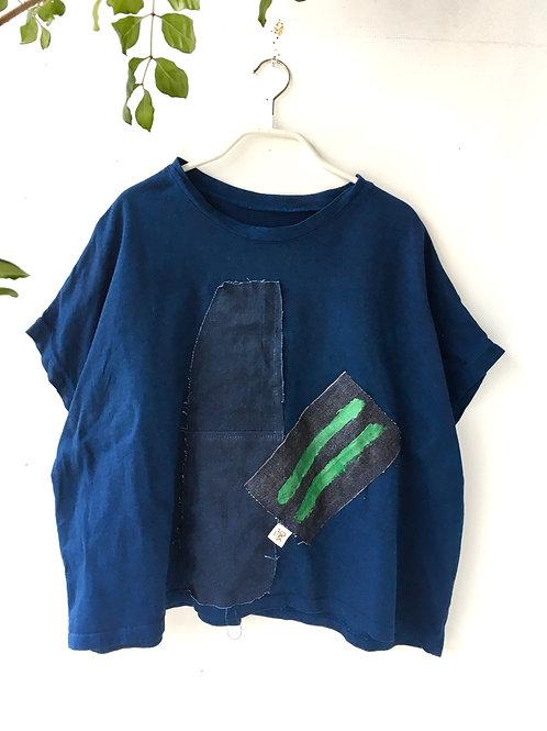 陽オリジナル BT214 藍染Tシャツ