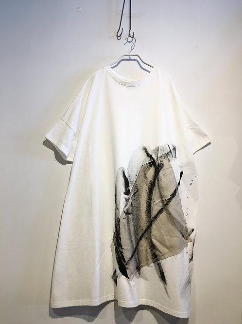 陽オリジナル  BCW -104  ロング Tシャツ・シロ