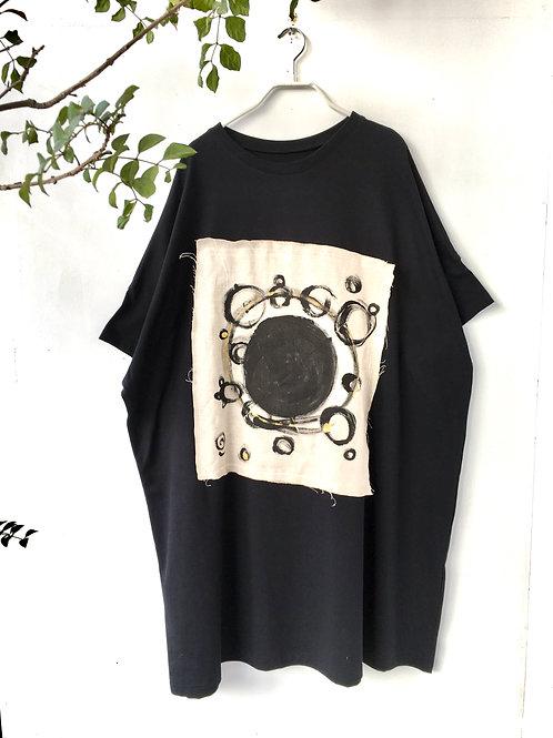 陽オリジナル  BCW -102  ロング  Tシャツ・黒