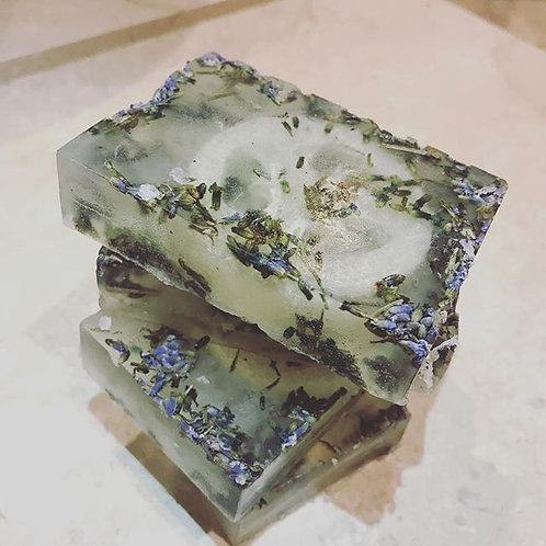 Exfoliating Lavender Soap