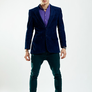 Fashion Model in Suit