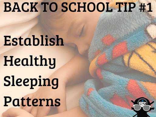 How to Set a Healthy Sleeping Pattern with Your Kids!
