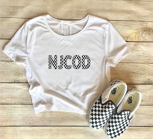 Checkered NJCOD T-Shirt
