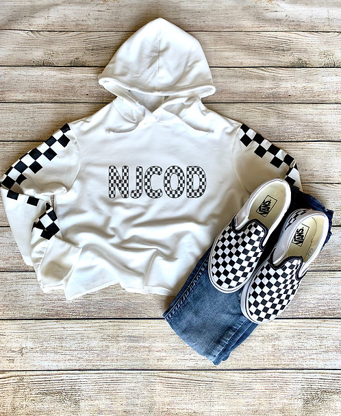 Youth Checkered NJCOD Hoodie