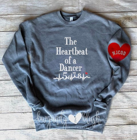Heartbeat of a Dancer Crewneck
