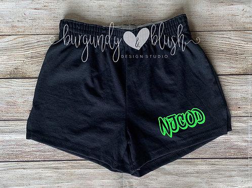 NJCOD Neon Shorts