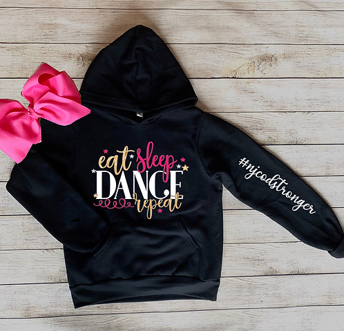 Eat Sleep Dance Repeat Hoodie