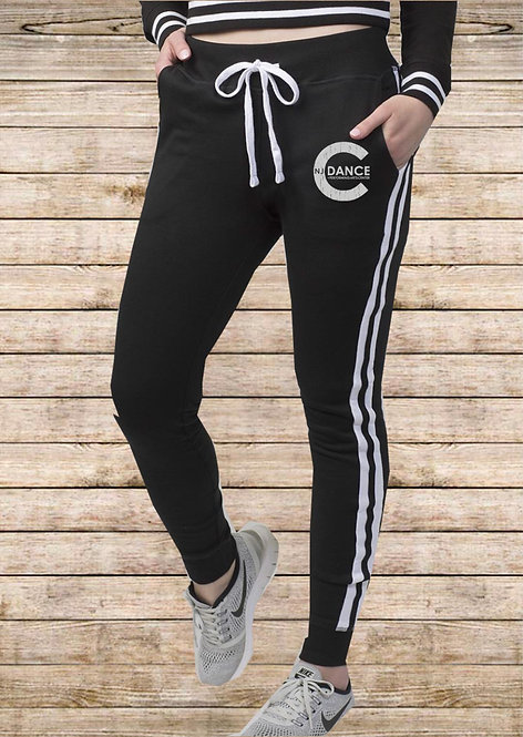 Striped NJCOD Joggers