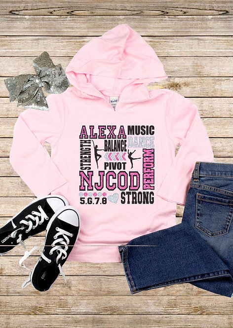 Youth Long Sleeve Dance Hoodie