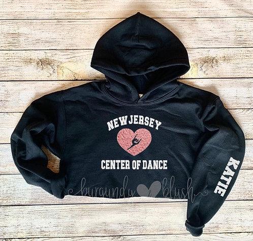 New Jersey Center of Dance Heart Hoodie