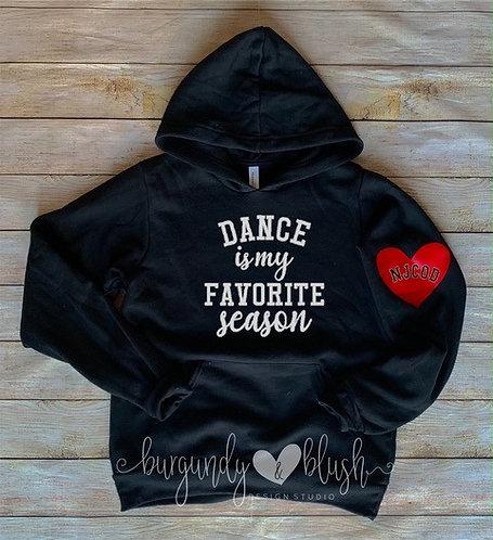Dance Is My Favorite Season Hoodie