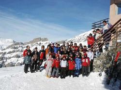Camp de ski 2003 Loèche