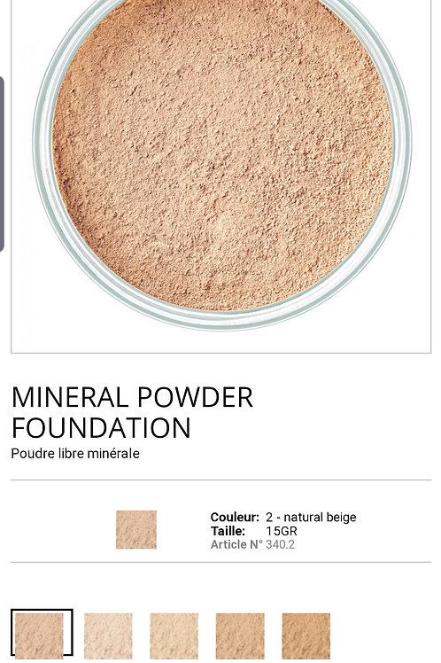Minéral powder N°02