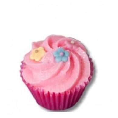 Mini cupcake cassis capucine