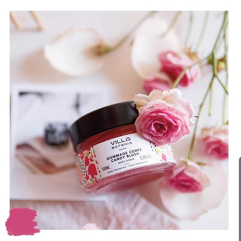 Gommage Candy Blush Rose/Framboise 100ml ♡