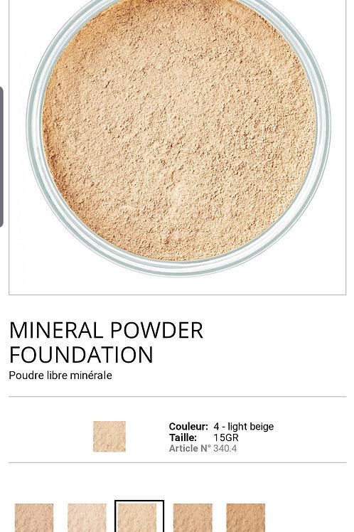 Minéral Powder N°04