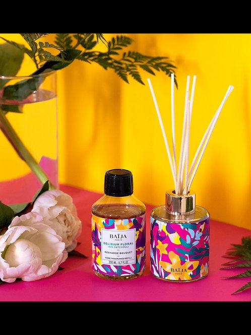 Bouquet parfumé delirium floral ( iris patchouli)