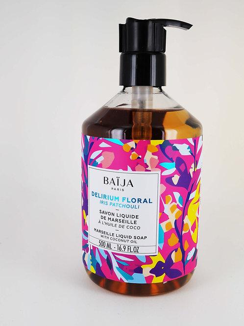 Savon liquide marseille delirium floral ( iris patchouli)