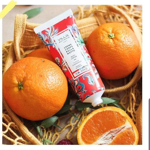 Crème corps Bella Note 75ml Fleur d'oranger ♡