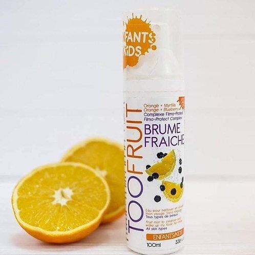 Brume fraîche nettoyante 100ml Myrtilles/Orange
