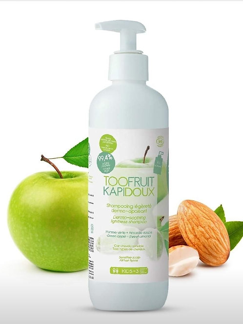 Kapidoux Shampoing Pomme verte/ Amande 400ml
