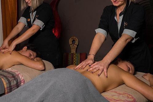 Massage Escale Bien-être 1h en duo.