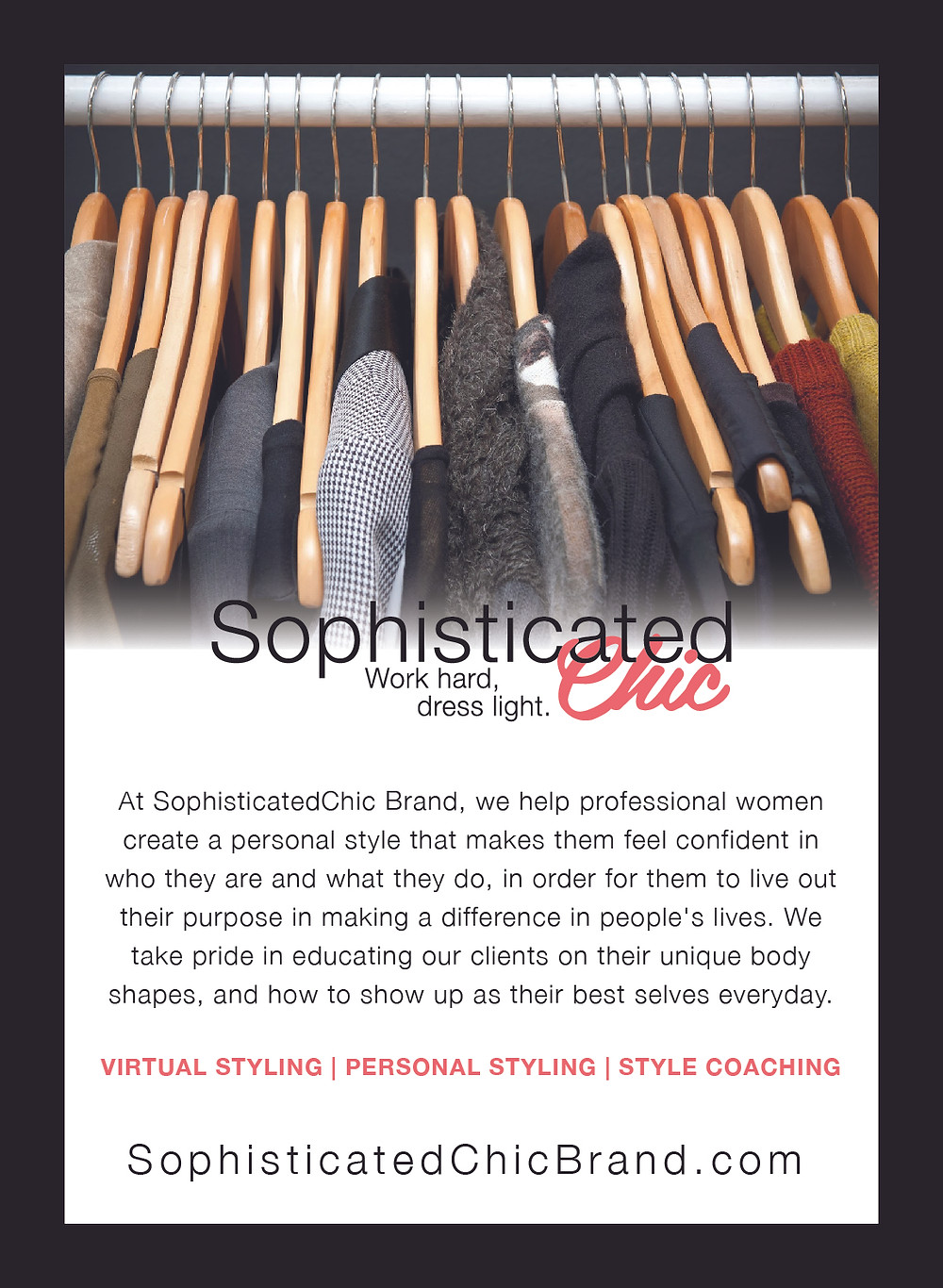 Ad SophisticatedChic Brand