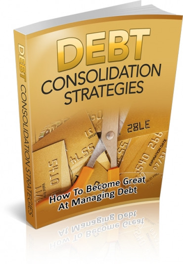 Book Cover Debt Consolidation Strategies