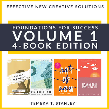 4-BOOK EDITION: VOL 1 FOUNDATIONS FOR SUCCESS