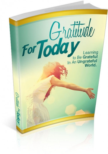eBook Cover Gratitude for Today