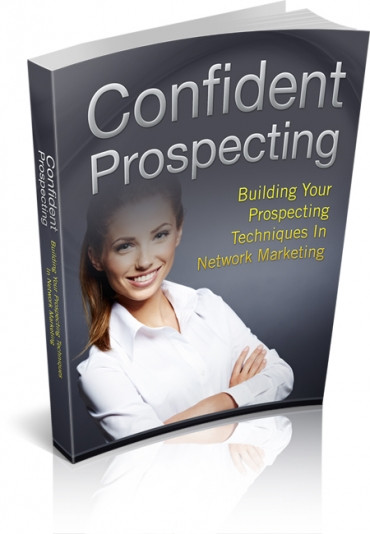 Book Cover Confident Prospecting