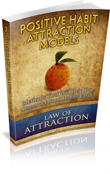 Book Cover Positive Habit Attraction Models