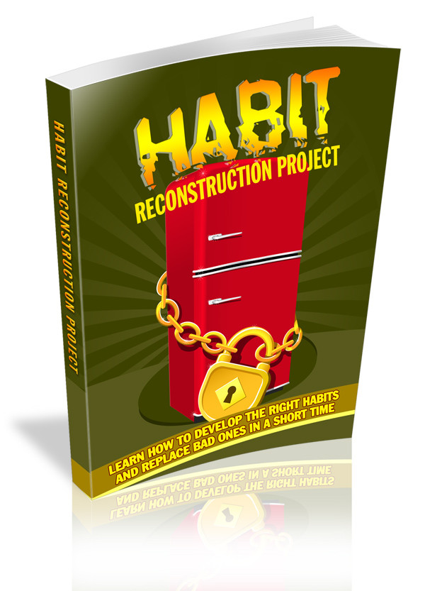 Habit Reconstruction Book Cover