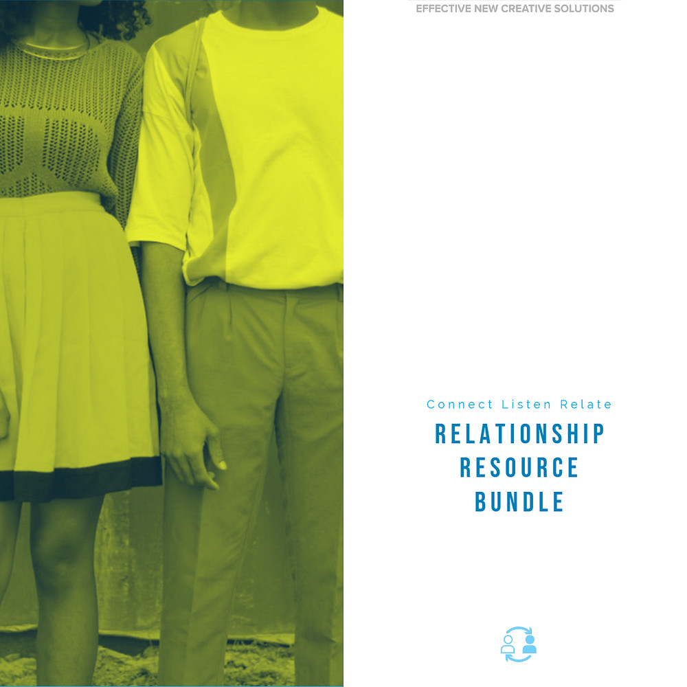 Book Cover Relationship Resource Bundle
